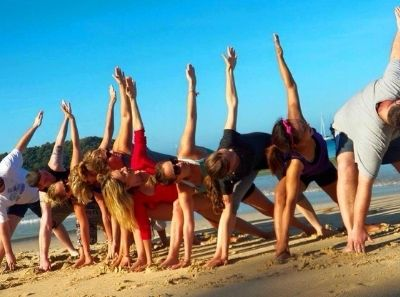 Daily Yoga is part of a Typical Day on a Detox Program